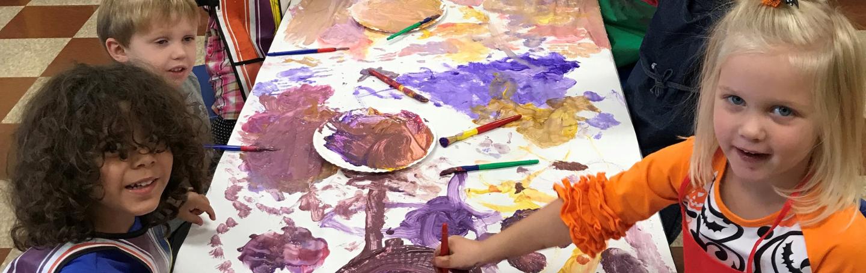 3 Year Preschool Art Project